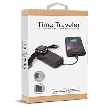 Time Traveler Battery Bank for Apple Watch and iPhone