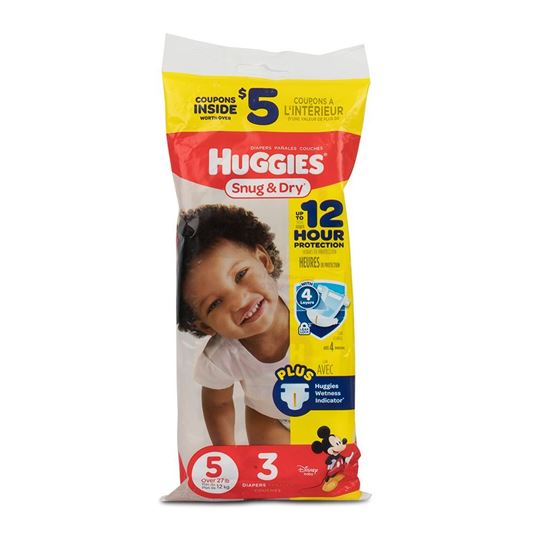 Huggies Snug & Dry Diapers, Step 5