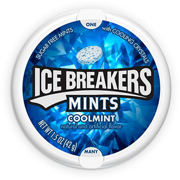 Ice Breakers Sugar Free Mints, Coolmint