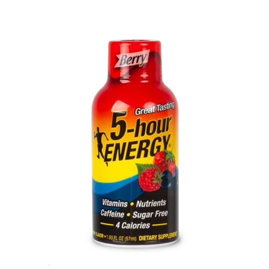5-hour Energy Shot, Berry Flavor
