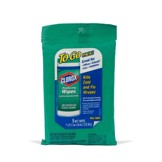 Clorox To Go Disinfecting Wipes