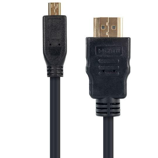 Micro-HDMI (Type D) to HDMI, 6-Foot