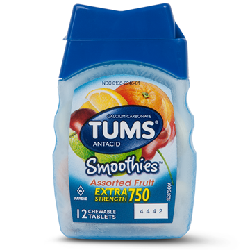 Tums Extra Strength Heartburn Relief Smoothies