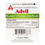 Advil Allergy & Congestion Relief, 1 Tablet
