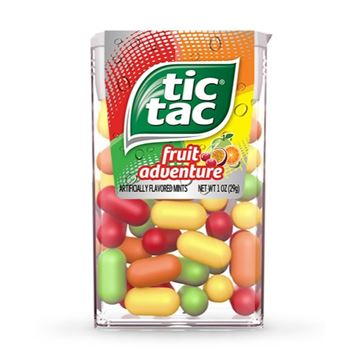 Tic Tac Fruit Adventure Mints, 1.0 oz.