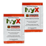 Ivy X Pre-Contact Solution for Poison Oak & Ivy, 2 Packets