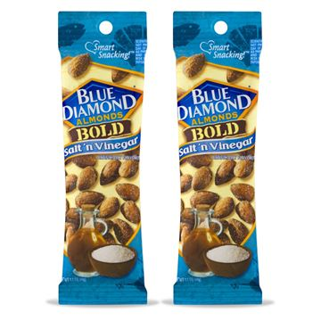 2 Pack, Blue Diamond Almonds, Bold Salt and Vinegar
