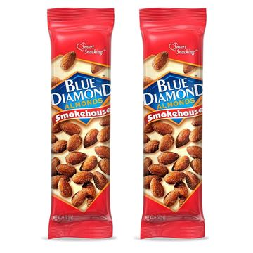 2 Pack, Blue Diamond Almonds, Smokehouse