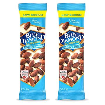 2 Pack, Blue Diamond Almonds, Lightly Salted