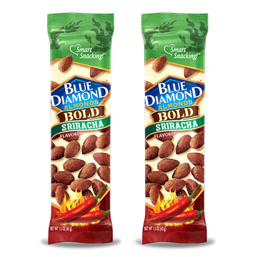 Blue Diamond Almonds, Bold Sriracha, 2 Pack