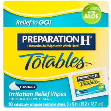 Preparation H Wipes