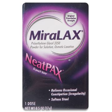 Miralax Sachet, Laxative Powder Packets