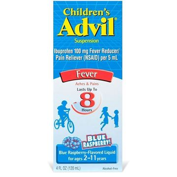 Children's Advil Fever Reducer/Pain Reliever Oral Suspension, 4.0 fl. oz.