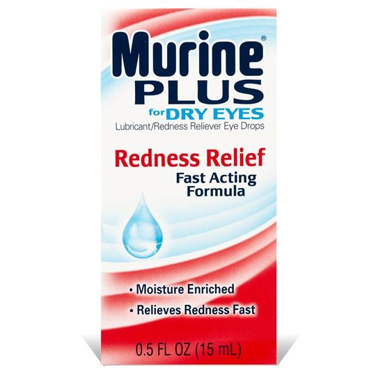 Murine Plus Eye Drops for Dry Eyes