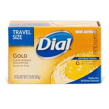 Dial Travel Soap, Travel Size, 2.25 oz.
