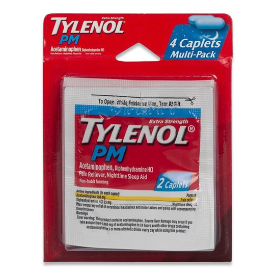 Tylenol PM Extra Strength Pain Reliever, 4 Caplets