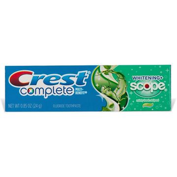 Crest Complete Whitening with Scope Toothpaste, Travel Size, .85oz.