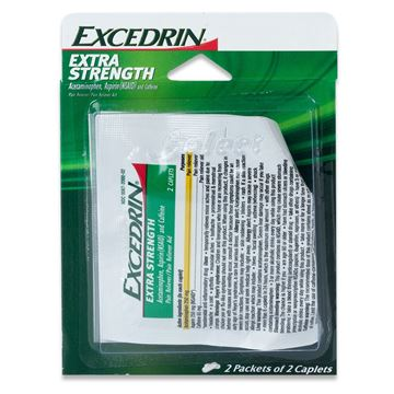 Excedrin Extra Strength Pain Reliever, 4 Caplets