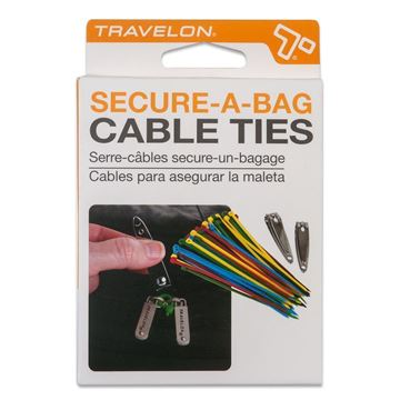 Secure-A-Bag Zipper Ties