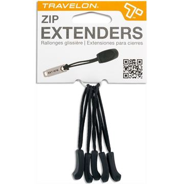 Zipper Extensions, 5 Pack
