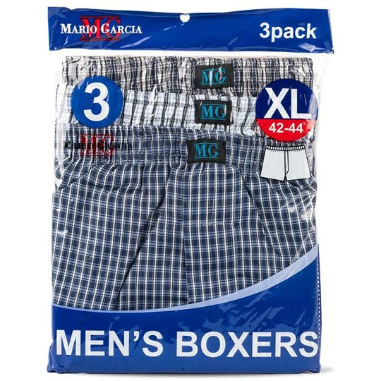 Boxer Shorts, X-Large, 3-Pack