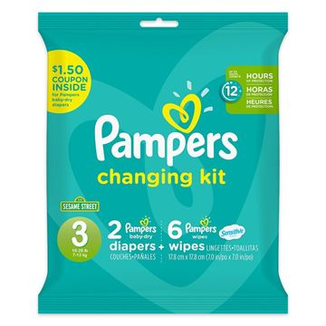 Pampers Changing Kit, 3 Months