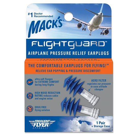 Flightguard Airplane Pressure Relief Earplugs