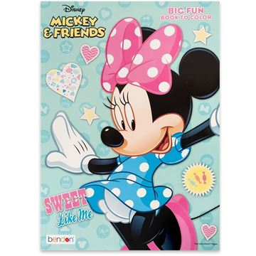 Mickey Mouse and Friends Big Fun Book to Color