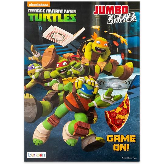 - Travel Depot Teenage Mutant Ninja Turtles Coloring And Activity Book