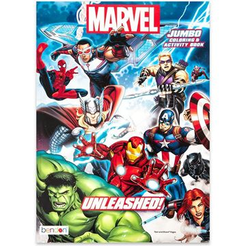 Marvel Jumbo Coloring and Activity Book